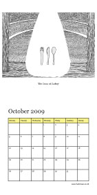 October - 'The Draw of Cutlery'